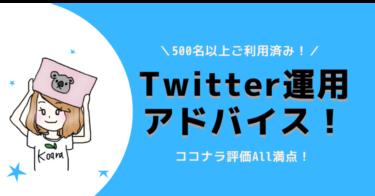 【満員御礼・追加募集】Twitterプロフィール添削&運用アドバイス!初心者がやるべきことを明確にお伝え!