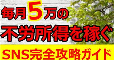 【SNS戦略】整体独立!経営術!2ヶ月で5万円ずつとりあえず副業で稼ぐ方法【初心者向け】