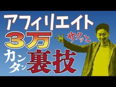 【自己アフィリエイト】安心安全!ノーリスクで3万円稼ぐ具体的なアクションプラン【A8】