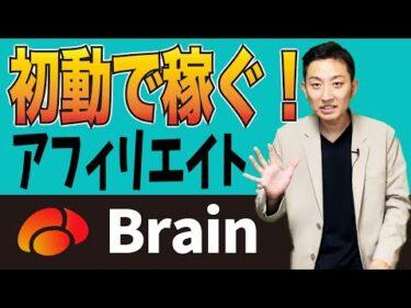 【Brain】面倒作業一切なし!初心者でも簡単にアフィリエイトで稼ぐ方法【副業】
